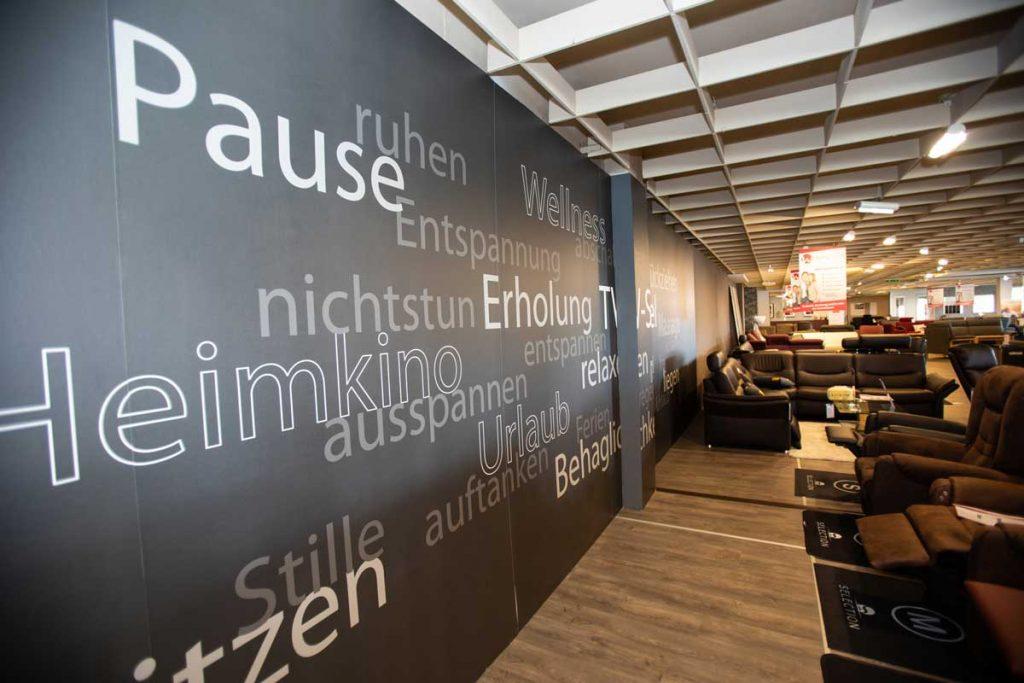 Ausstellung Wohnlich Westerburg Möbelhaus Westerwald